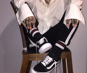 Tattoos, aesthetic, and vans image