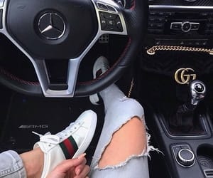 cars, girls, and gucci image