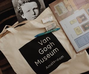 bag and van gogh image