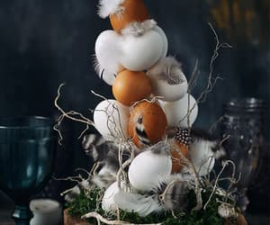 decorations, easter decor, and easter image