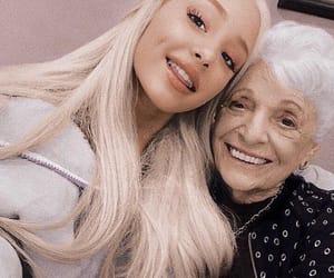 ariana grande, ariana, and nonna image