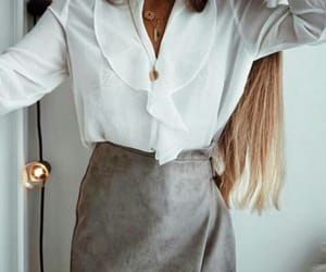 blouse, fashion, and outfit image