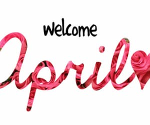 april, welcome, and abril image