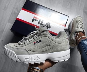 Fila, disruptor, and sneakers image