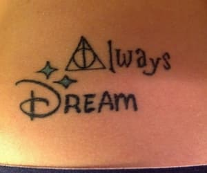 disney, harry potter, and tattoo image