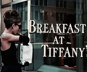 Breakfast at Tiffany's, audrey hepburn, and tiffany image