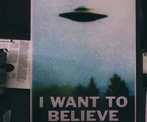 I want to believe, poster, and space image