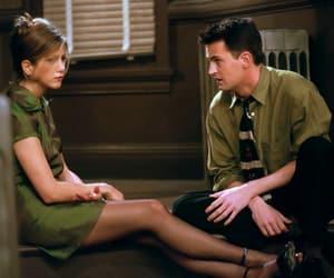chandler bing, Jennifer Aniston, and rachel green image