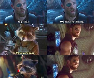 Avengers, awesome, and rocket raccoon image