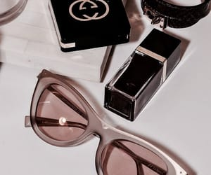 style, make up, and sunglasses image