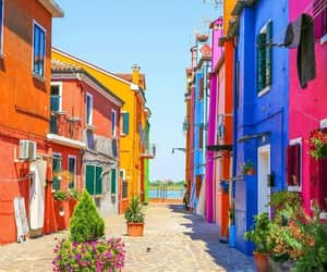 italy, street, and venice image