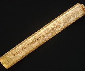 etsy, gold plated bracelet, and gold filled bracelet image