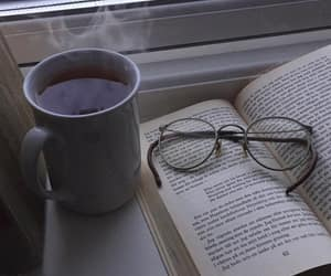 book, coffee, and alternative image