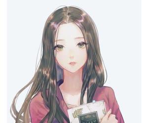 anime girl, anime, and art image