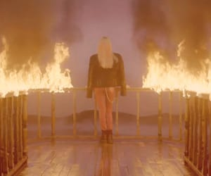 kpop, lisa, and playing with fire image