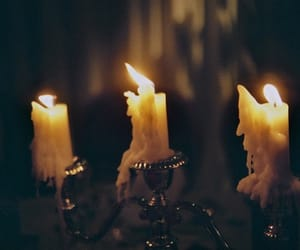 candle, light, and black and white image