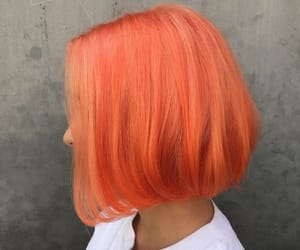 hair, orange, and cute image
