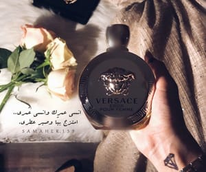 perfume and rose image
