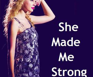 strength, strong, and Taylor Swift image