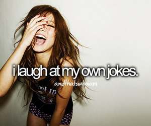 laugh, joke, and quote image