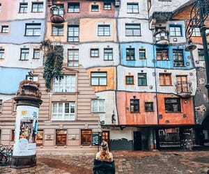 aesthetic, Houses, and colors image