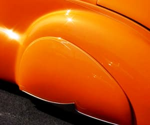 cars, orange, and vintage image