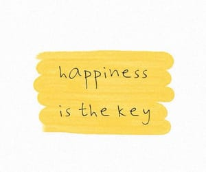 quotes, happiness, and yellow image