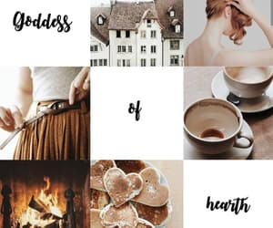 aesthetic, edit, and goddess of the hearth image