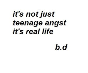 sad, text, and white image