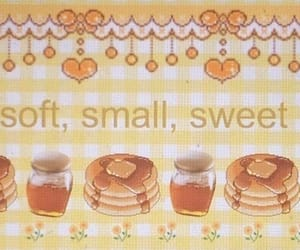 soft, pancakes, and pastel image