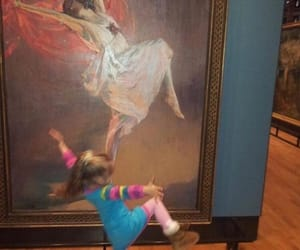 art, dance, and kids image