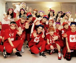 exo, snsd, and girls' generation image