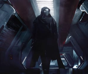 concept art, star wars, and kylo ren image