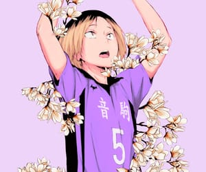 haikyuu, kenma, and anime image
