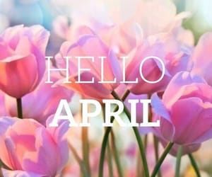 spring, april, and flowers image