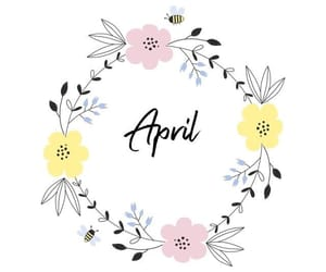 april, march, and new month image