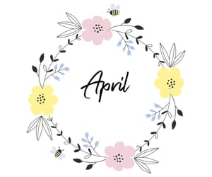 april and new month image