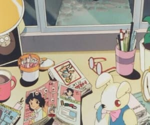 anime, 90s, and aesthetic image