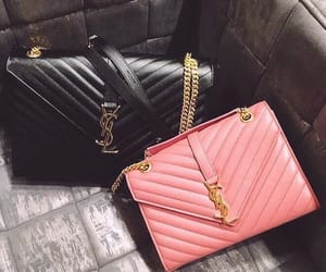 bag, black, and luxurious image