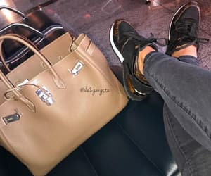 bag, jeans, and luxury image