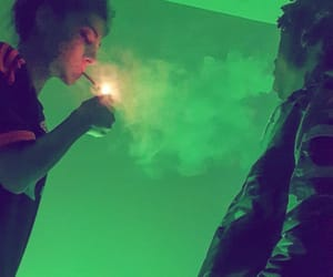 simple, smoke, and friends image