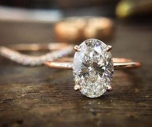 boy, girl, and engagement ring image