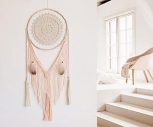 dream catcher, interior design, and large image