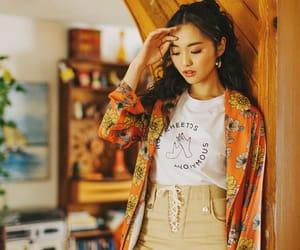 fashion, floral, and kimono image