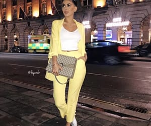 shoes sneakers, outfit clothes, and brune brunette image
