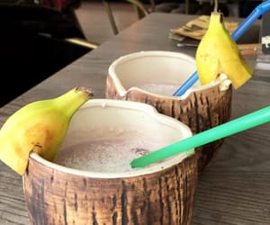 bananas, Cocktails, and coconut image