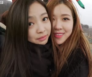 rose, jennie, and chaeyoung image