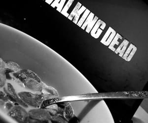 cornflakes, food, and the walking dead image