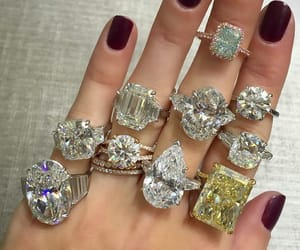 diamonds, nails, and rich image