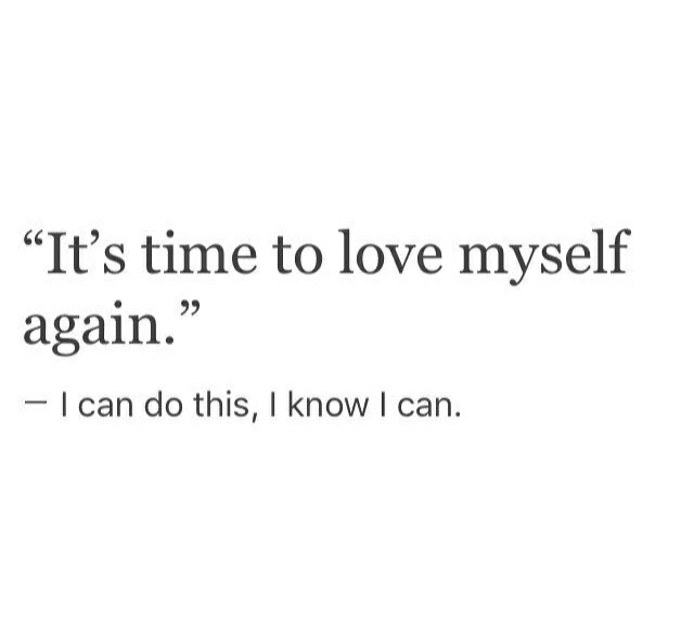how to love yourself on we heart it